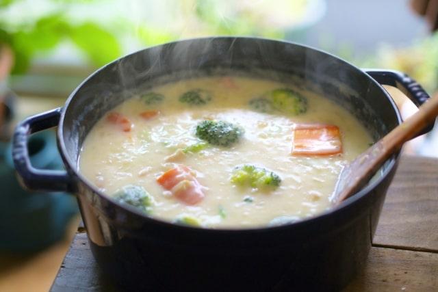 ヒルナンデス サイコロレストラン レシピ 作り方 バレンタイン 浜名ランチ カニクリームスープ