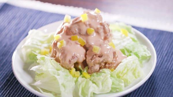 スッキリ レシピ お惣菜アレンジレシピ から揚げ エビマヨ