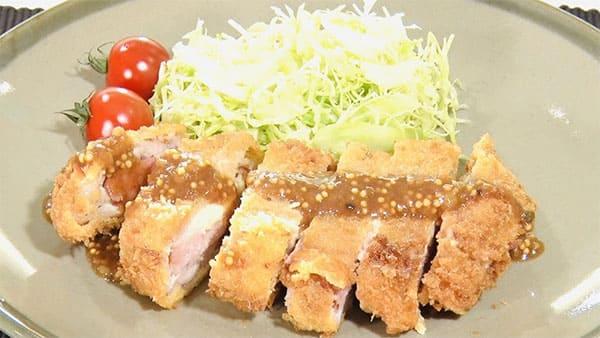 スッキリ レシピ sio 鳥羽シェフ 褒めらレシピ みんなの食卓 ミルフィーユとんかつ