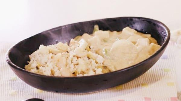 スッキリ レシピ sio 鳥羽シェフ 褒めらレシピ みんなの食卓 ホワイトカレー
