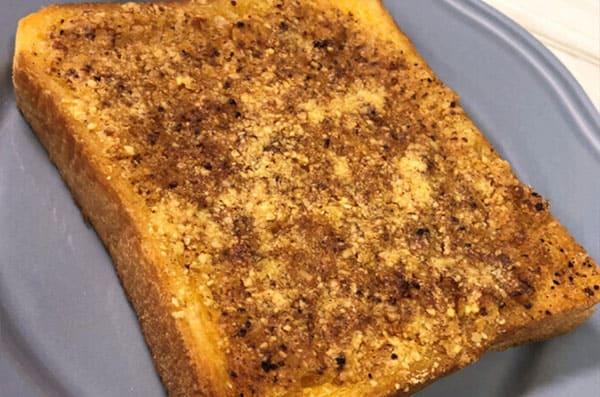 スッキリ レシピ アレンジトースト カレーパン