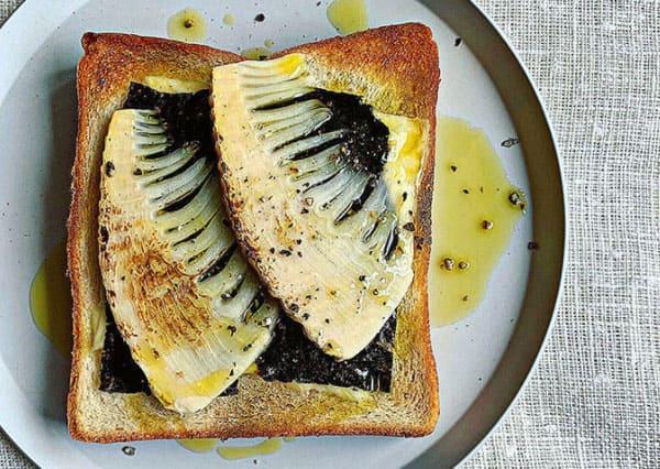 スッキリ レシピ アレンジトースト 鳥羽シェフ のりチーズのたけのこトースト