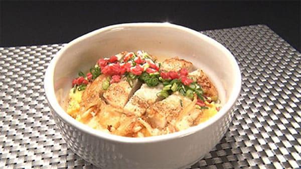 魔法のレストラン レシピ 作り方 材料 チキンカツ丼 パリパリ親子丼