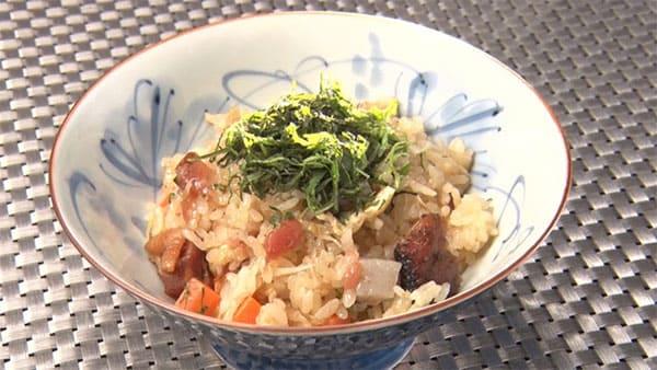 魔法のレストラン レシピ 作り方 材料 炊き込みご飯