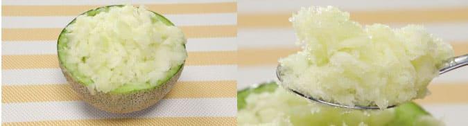 相葉マナブ 旬の産地ごはん 千葉 旭市飯岡 タカミメロン メロンかき氷