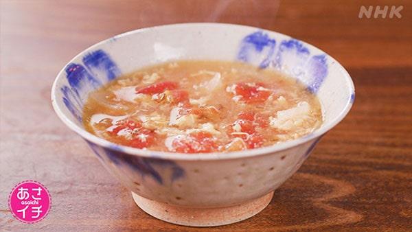 あさイチ 作り方 材料 レシピ スパイス トマトスープ