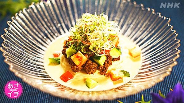 あさイチ 作り方 材料 レシピ ハレトケチャレンジ 肉味噌そうめん 肉味噌
