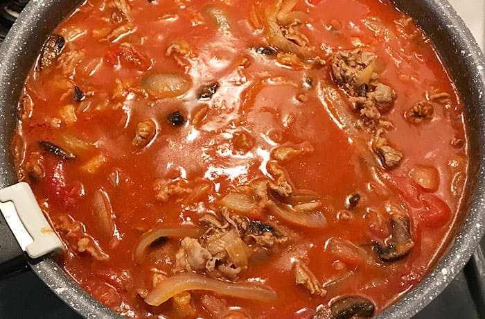 牛肉トマト煮