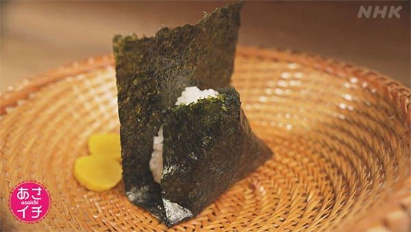 あさイチ 作り方 材料 レシピ 教えて名店さん 極上おにぎりの作り方 塩むすび